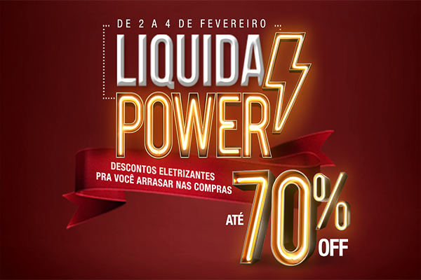 Liquida Power está de volta ao ItaúPower Shopping