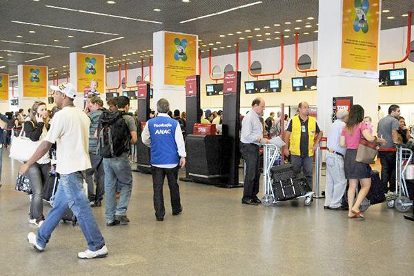 Aeroportos da Infraero têm movimentação tranquila nesta quarta-feira