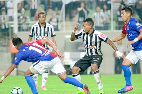 Vitória do Galo garante vaga nas quartas de final da Copa do Brasil