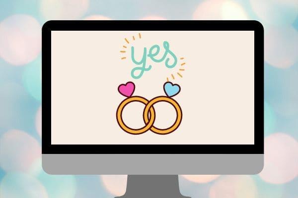 Casamentos por videoconferência são autorizados em todo o Estado