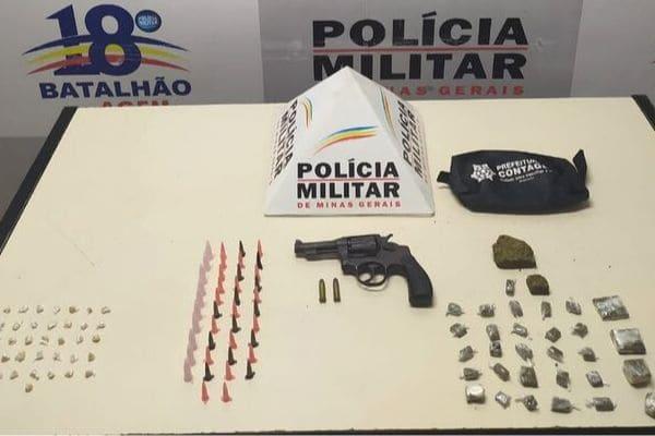 Homens exibem arma e intimidam moradores em Contagem