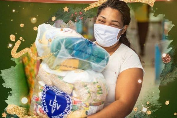Campanha de Natal da LBV arrecada doações para famílias carentes