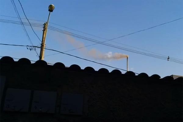 Empresa poluidora interditada em Contagem