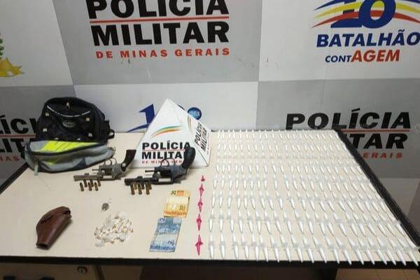 PM inicia o mês com grandes apreensões de drogas em Contagem