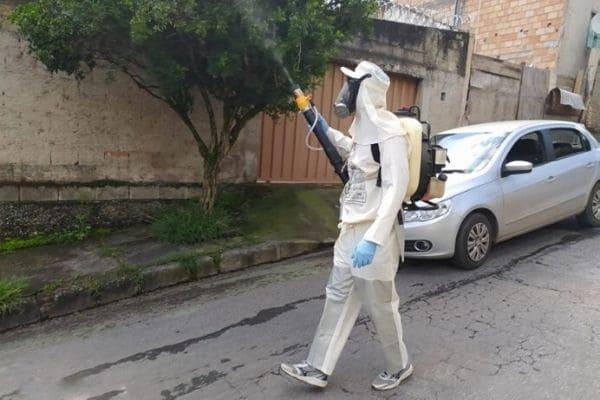 Contagem tem 77 novas notificações de dengue