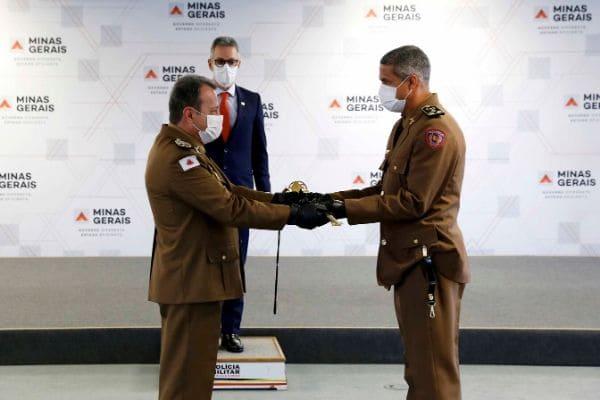 Novo comandante-geral da PM é empossado em Minas