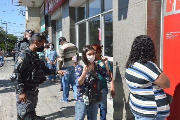Guarda Civil  volta a fiscalizar o centro comercial do Eldorado