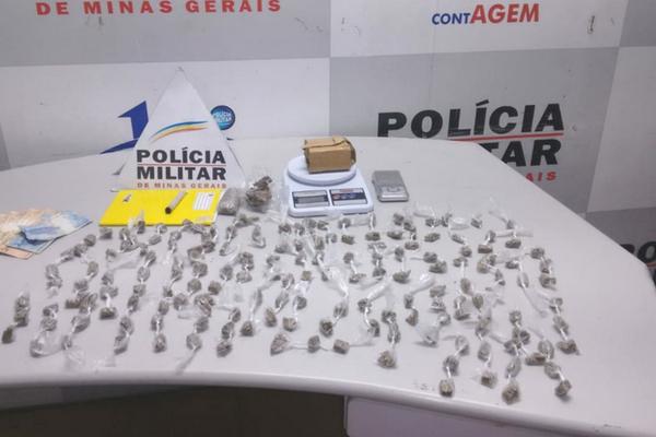 Casal é preso por tráfico de drogas, no Petrolândia