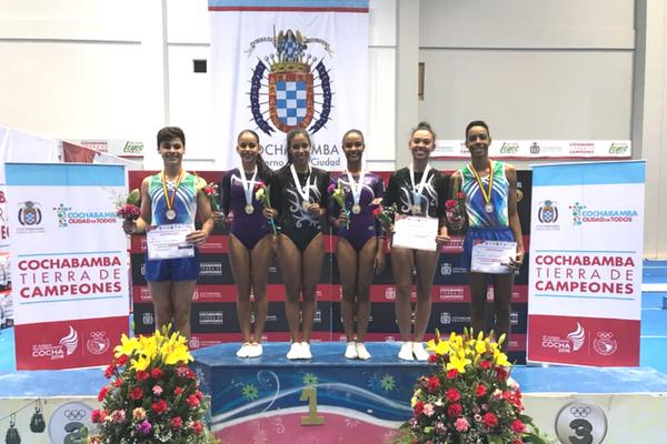 Atletas de Contagem conquistam 7 medalhas na ginástica de trampolim