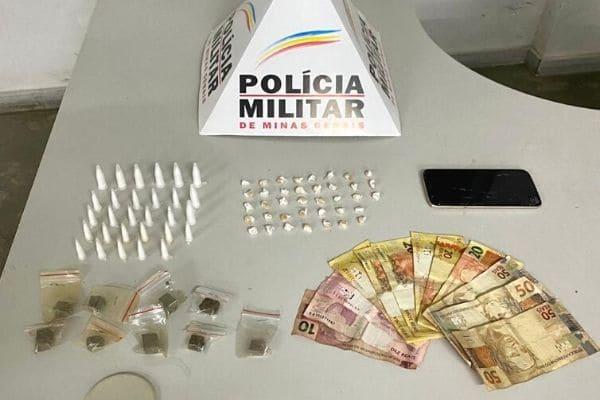 Homem é preso ao tentar esconder drogas no Vila Renascer