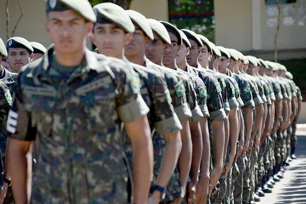 Alistamento militar para jovens que completam 18 anos já começou