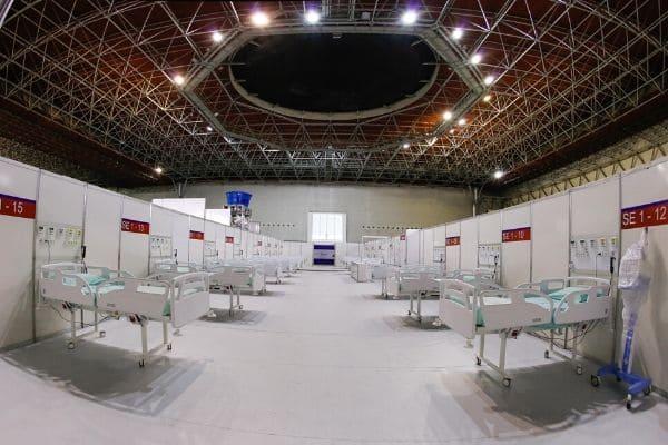 Hospital de campanha de Minas terá gestão compartilhada