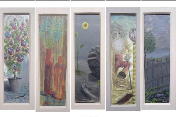 Projeto Tudoaver traz exposição gratuita de pinturas