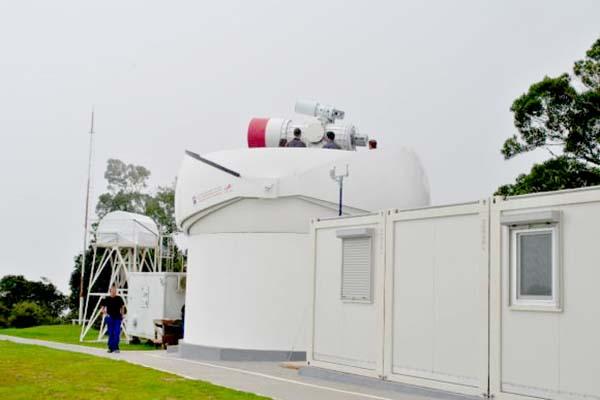 Telescópio russo de alta tecnologia é inaugurado em Minas Gerais