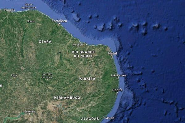 Tremor de terra é registrado na costa do Nordeste do Brasil