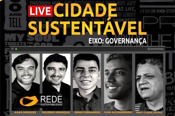 Live debate a Governança como forma de governo