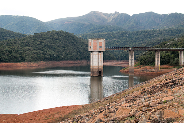Níveis dos reservatórios voltam a subir, na Grande BH