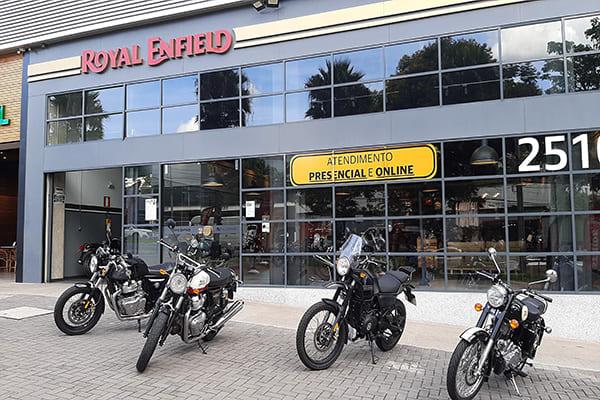 Motos Royal Enfield 2021 chegam à BH com novidades