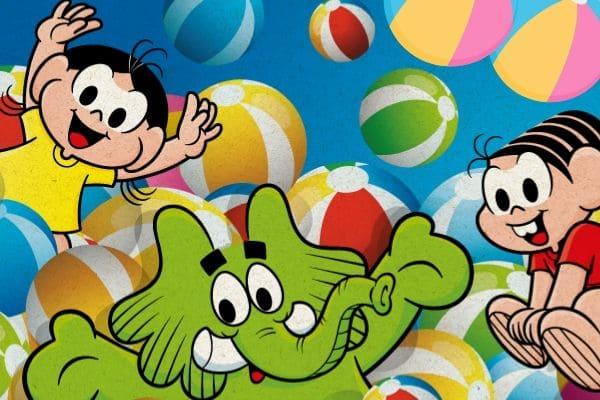 Parque temático inflável é nova atração para criançada