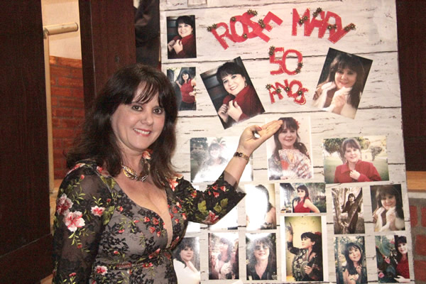 Aniversário de Rosemary Romero