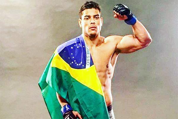 Paulo Borrachinha vence mais uma no UFC, nos EUA