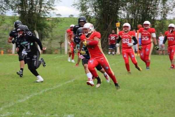 CSU Amazonas recebe jogos da Copa Ouro de Futebol Americano