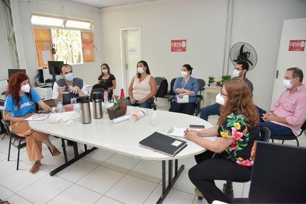 Cievs de Contagem recebe visita do Ministério da Saúde