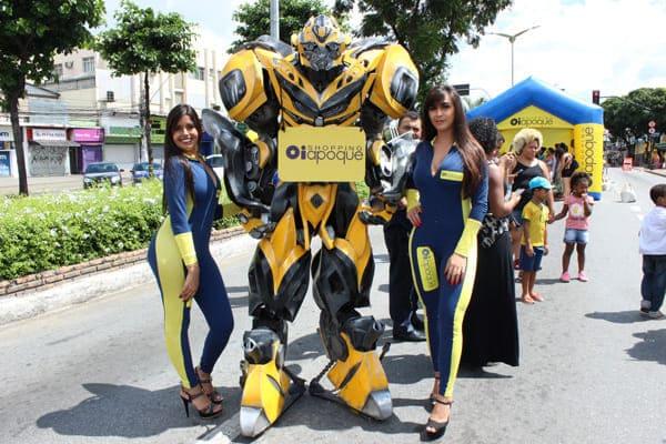 """""""A Rua é Nossa"""" tem presença de Transformers"""