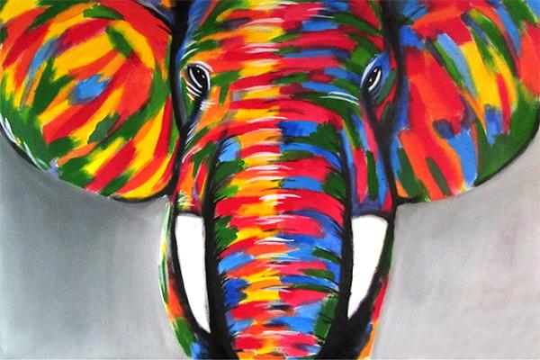 Resultado de imagem para a arte em defesa dos elefantes