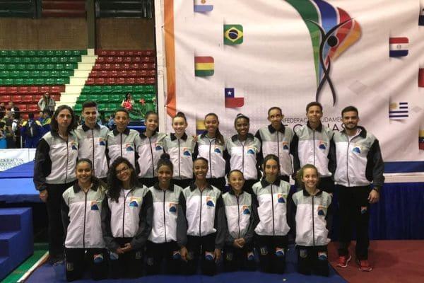 Equipe contagense conquista 16 medalhas em campeonato sul-americano