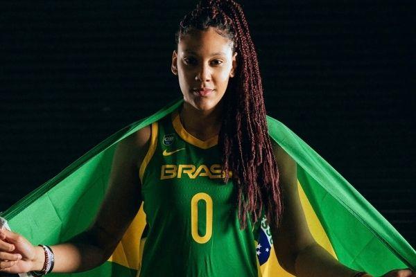Atleta do Norte de Minas é destaque na seleção brasileira de basquete