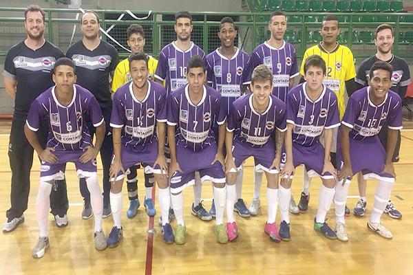 Contagem sedia partidas do Campeonato Estadual de Futsal Sub 20