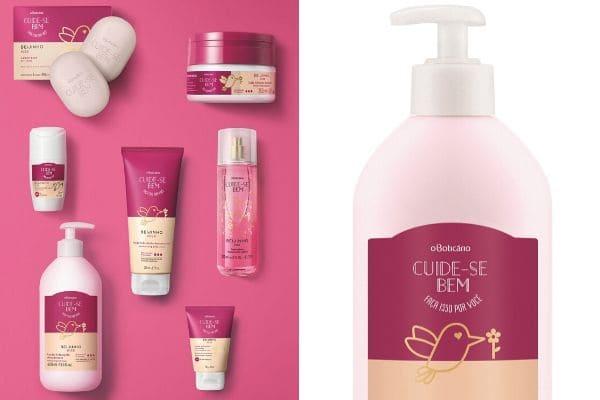 O Boticário lança produtos para peles secas e extrassecas