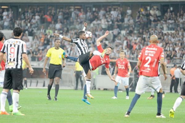Empate sem gols tira Atlético-MG da Libertadores