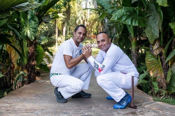 Inhotim tem tarde de capoeira e samba