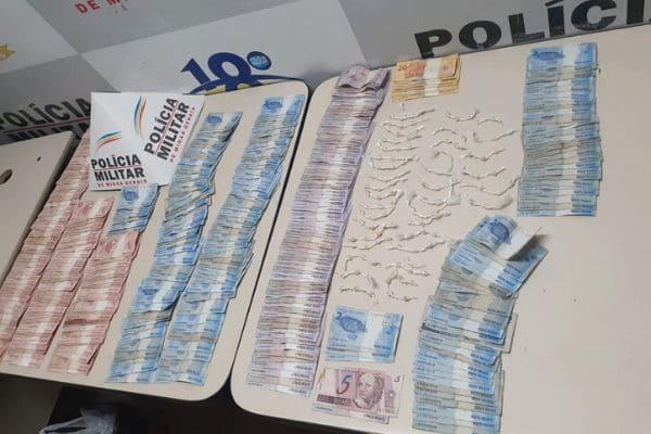 Suspeito de tráfico de drogas é preso no Jardim Laguna