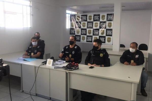 Suspeitos de integrarem organização criminosa são indiciados em Contagem