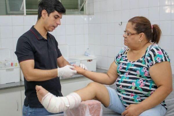 Ambulatório é inaugurado para tratar feridas em pacientes diabéticos