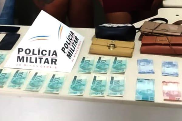 Dinheiro falso, produtos roubados, cinco suspeitos detidos