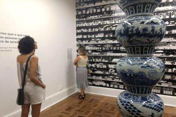 Últimos dias da exposição de Ai Weiwei em BH