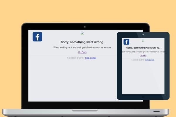 Facebook sai do ar por cerca de 30 minutos