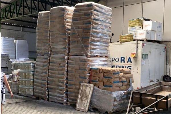 Polícia recupera 35 toneladas de polvilho azedo roubadas