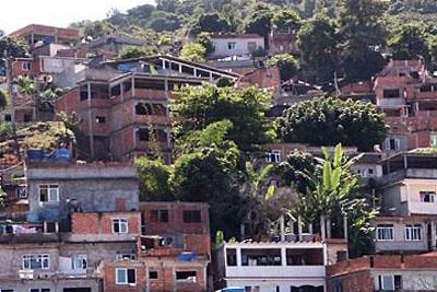 Número de favelas é crescente no Brasil.