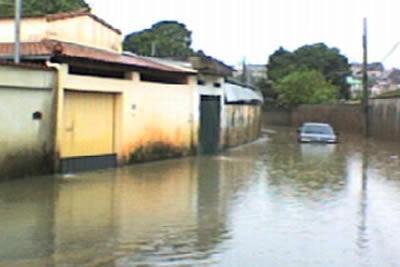 Chuvas evidenciam problemas da cidade