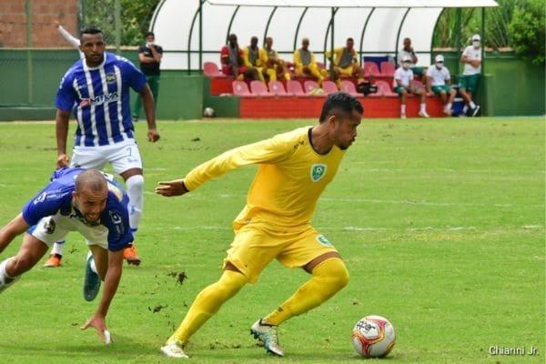Time contagense estreia com empate na fase Hexagonal do Campeonato Mineiro