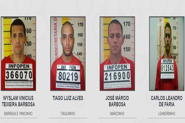 Foragidos da Justiça têm nomes e rostos divulgados em todo o Estado