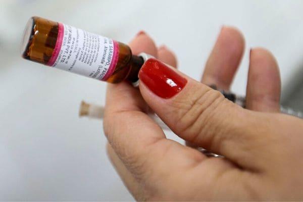 Campanha de vacinação contra o sarampo tem nova fase