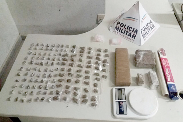 Polícia apreende droga em chácara no bairro São Mateus