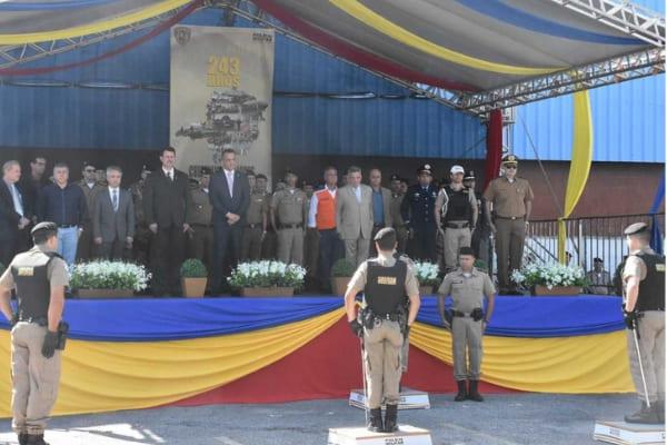 Novos comandantes assumem batalhões da PM em Contagem