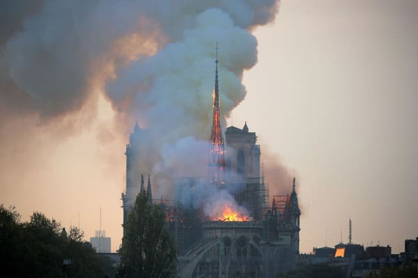 Incêndio na Catedral de Notre-Dame choca o mundo